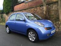 2004 Nissan Micra 1.2 SX 12 Months Mot Keyless Start Parking Sensors