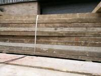 Used scaffolding boards