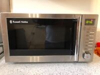 Russell Hobbs 800w Microwave & Grill Excellent Condition Stainless Steel