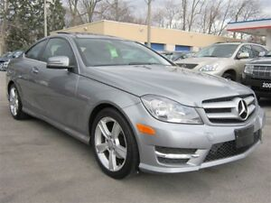 2013 Mercedes-Benz C-Class C250 COUPE PANORAMA ROOF 92KMS LEATHE