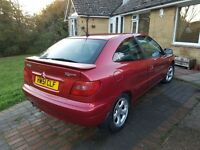 Citreon xsara coupe 1.6 vtr 12 Months MOT! Only 65k miles
