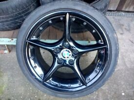 BMW Z4 E85 BBS SPLIT RIM 18in Staggered wheels and tyres