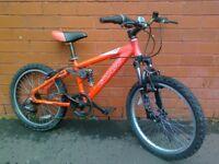 Carrea mountain bike - aluminium frame , full suspension !