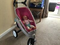 Smoby Quincy dolls stroller