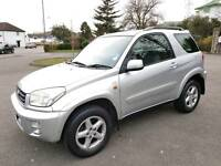 TOYOTA RAV4 NRG VVTI - 4x4 – 83,500 MILES ONLY, DRIVES GREAT