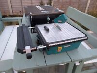 Erbauer electric wet tile cutter 750w 230v