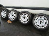 """Volkswagen Transporter T5-T6 17"""" Steel Wheels"""