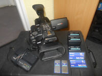SONY PMW-EX1 with batteries, memory cards and Peli case