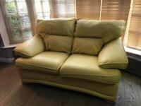 2 and 3 seat leather sofas