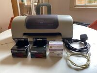 Epsom C62 Inkjet Printer. Switches on but has STOPPED PRINTING.