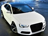 STUNNING (2012) AUDI A5 2.0 TDI S LINE BLACK EDITION 3DR SERVICE HISTORY LEATHER FINANCE AVAILABLE