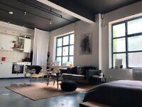 Open Plan 1 bed Warehouse Studio Apartment - All Bills Inc