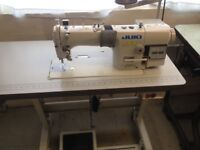 Juki DDL 8700A industrial sewing machine.