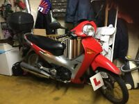Honda innova 125 motorcycle