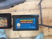 Gameboy Advance with 4x Games