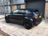 Range Rover Evoque with black pack perfect condition