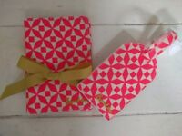 Passport holder and luggage tag gift box from Boden.