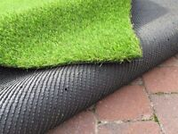Artificial grass (large off cuts).