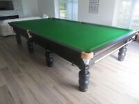 Full Size BCE Westbury Snooker Table Satin Black with Free Delivery and Installation