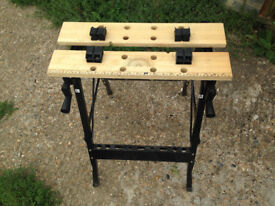 Adjustable Folding Work Bench