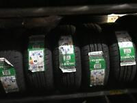 NEW TYRES-195-60-15 88V £38) FREE FITTING ( PART WORN TYRES FROM £15 )TRACKING £25 wheel alignment