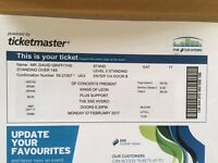 STILL NOT SOLD Kings of Leon Ticket - 27th Feb @ SSE Hydro