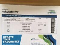 Kings of Leon Ticket - 27th Feb @ SSE Hydro