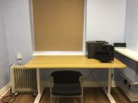 Ideal drop in office in the centre of Liverpool (Wifi, printer, own tea making facilities)