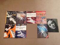Job lot of beginner Piano/keyboard sheet music books