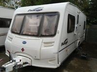 Bailey Pageant Bordauex 2005 Series 5 4 berth Fixed Bed £6250
