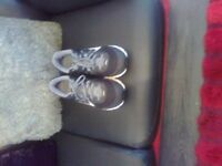 1 pair of used NIKE icarus trainers size 12 1 pair of used ADIDAS neo trainers size 12