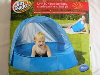 POP UP BABY SHADE & BALL PIT