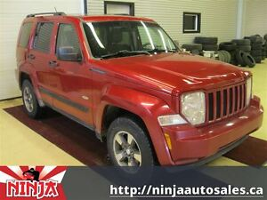 2008 Jeep Liberty Sport Highway Runner
