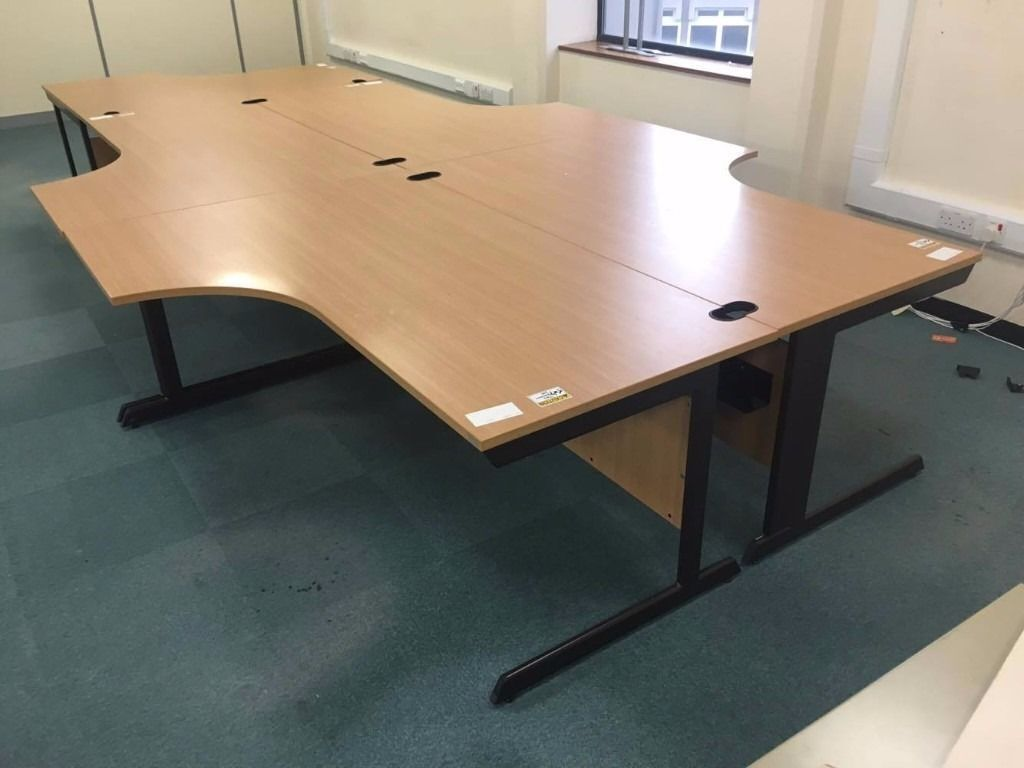 Chairs and office desksin Gloucester, GloucestershireGumtree - Selling beech office desk, As you can see the desk are in good condition, you can buy drawers for extra.We also have about 52 of these for sale. Please email me