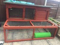 Big sized rabbit hutch for sale