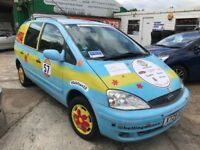 LEFT HAND DRIVE LHD SCOOBY DOO FORD GALAXY 7 SEATER UK REGISTERED, LOGBOOK AVAILABLE,IDEAL TO EXPORT