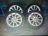 "16"" Audi Alloys Full Set"