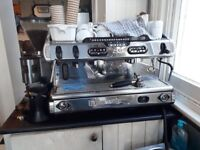 La Spaziale S9 coffee machine available from 23/2/18 in Hove. 18 months and in great condition