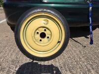 Mazda MX5- spare wheel- space saver