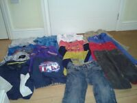 Boys' Clothes Bundle A age 2/3 - 15 items, skinny jeans, long tops,shirts/tshirts, NATIONAL AVE