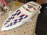 CEN Baja boss 272 RC radio controlled speed boat