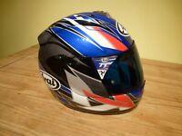 Arai RX7 motorbike crash helmet