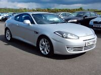 2007 Hyundai coupe 2.o petrol, full mot, 1 owner from new, tidy example top spec