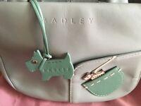 Radley Mini Handbag Pale Blue