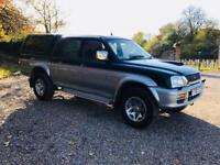 MITSUBISHI L200 2.5 TD 4WD 2001(Y)REG**METALLIC**EX COMPANY OWNED**