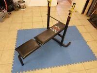 York 6600 weight training bench
