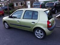 Clio 1.2 16v - 83k mileage + water pump & timing belt changed