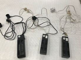 Aquarium Hood light starter units. 3 units. Used. For fluorescent tubes.