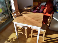 IKEA Table & 2 Chairs