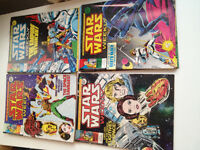 A collection of 77 MARVEL STAR WARS comics